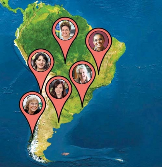 La brecha política de género en AméricaLatina