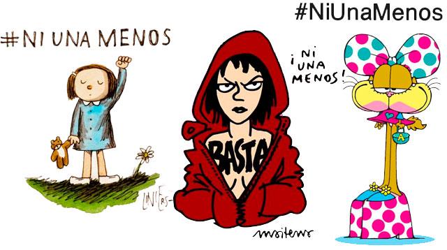 #NiUnaMenos en las redes: arte ypolítica