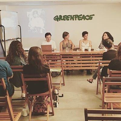 Charla en Greenpeace: Paro Internacional deMujeres