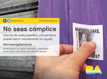 Campaña No seas cómplice Ciudad de Buenos Aires