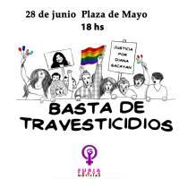 Las Empoderadas: Marcha Nacional contra los Travesticidios