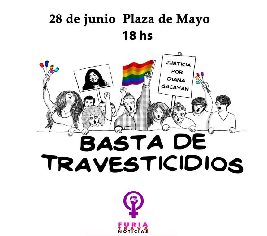 Las Empoderadas: Marcha Nacional contra losTravesticidios