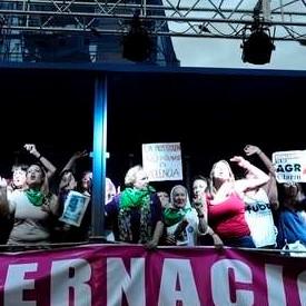 Nora Cortiñas y Margarita Meira La prostitución no es trabajo es violencia