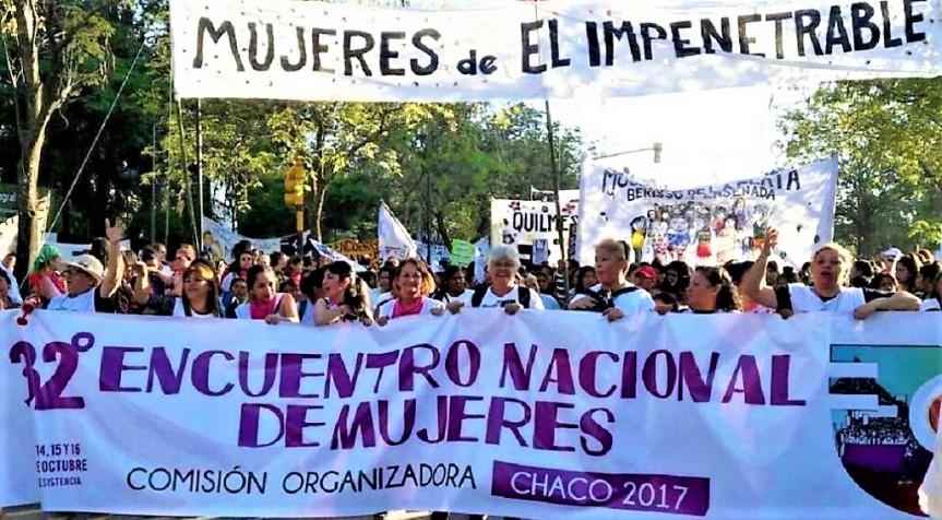 Las Empoderadas: 32° Encuentro Nacional de Mujeres en Resistencia,Chaco