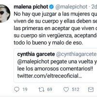 Carta Abierta a Malena Pichot