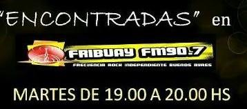 """Entrevista en """"Encontradas"""" por FMFribuay"""