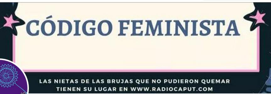 "Entrevista en ""Código Feminista"" por RadioCaput"