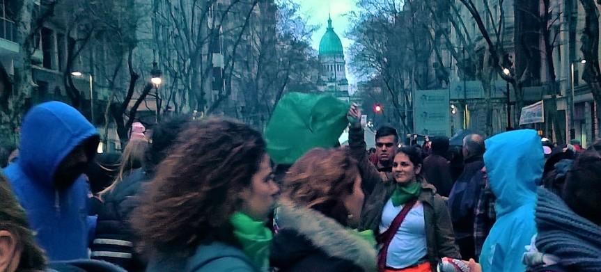 Argentina debates abortion: The green fire keepsspreading