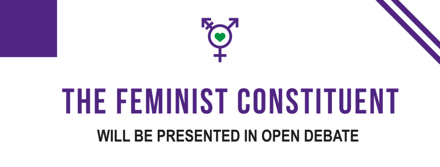 FEMINISTS TO REFORM CONSTITUTION INARGENTINA
