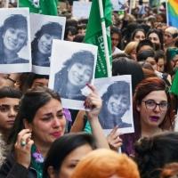 Lucía Pérez replicada en miles contra la justicia misógina