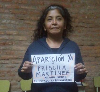 Mónica Rojas, de Familiares en Lucha contra el Gatillo Fácil de Tucumán